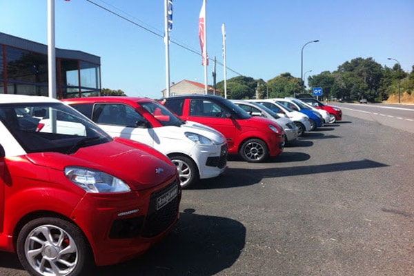 alquiler de coches sin carnet